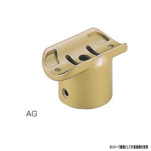 シロクマ ブラケット E形直受チーズ 亜鉛合金 35φ/32φ AG/シルバー/アンバー BR-165 interiortool
