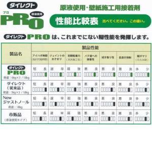 ヤヨイ化学 ダイレクト プロ 218-202 希釈不要の原液使用 壁紙用接着剤 6kg×3袋入|interiortool|02