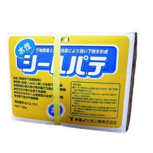 ヤヨイ化学 水性シールパテ 18kg 和壁に便利 通常在庫品|interiortool