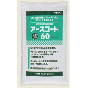 ヤヨイ化学 アースコート60 モルタル、コンクリート面の全面補修 4.5kg 293-801|interiortool