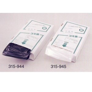 ポリ袋ボックスタイプ 透明 90L 0.05厚×900×1000mm 100枚入 315-945 interiortool