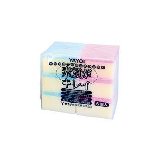 ヤヨイ化学 スポンジ 素顔がキレイ 1パック(6個入) 328-059|interiortool
