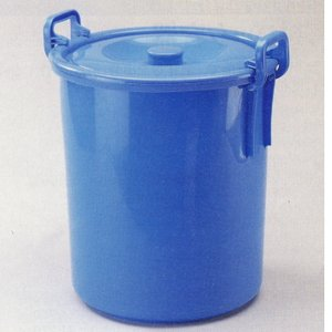 ヤザキ フタ付きバケツ 万能桶 34L 1つ 343-502|interiortool
