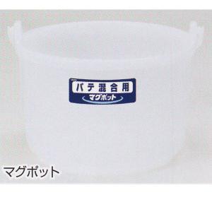 ヤヨイ化学 パテ混合用バケツ マグポット 18L 1つ 407-811 interiortool