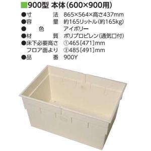 吉川化成 900型収納庫本体(600×900用) 900Y 865×564×高さ437mm|interiortool