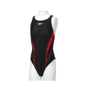 スピード 水着 ガールズ 競泳用 FLEX ZERO JRエイムカット SD36B07 RE レッド|interiortool