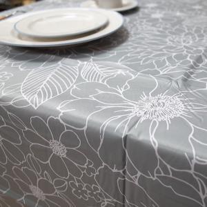 テーブルクロス クリオール 132×132cm さっと拭けるビニール製 interiorzakka