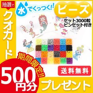 マジカルビーズ セット ビーズトレイ 図案 ピンセット ビーズ おもちゃ マジカルボール 約3000...