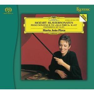 ESOTERIC モーツァルト ピアノ・ソナタ集 (SACD) inthemood555