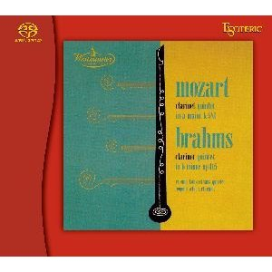 予約 ESOTERIC モーツァルト&ブラームス クラリネット五重奏曲(SACD) inthemood555