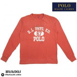 Polo Ralph Lauren Men Graphic Long Sleeve Tee RED|inthestreet-jp