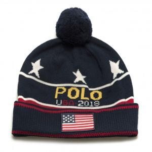 POLO RALPH LAUREN AMERICAN FLAG WOOL HAT / ポロ ラルフローレン 星条旗 帽子 ニット帽 ビーニー|inthestreet-jp