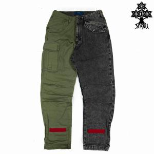 SURKU M65 ONE LOVE Cargo Pant. /Black Olive|inthestreet-jp