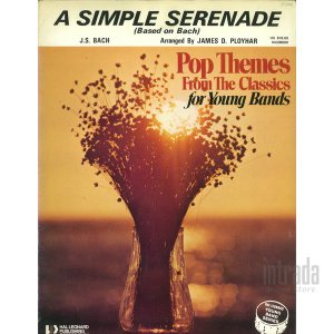 A SHMPLE SERENADE(Based on Bach)|intrada-onlinestore