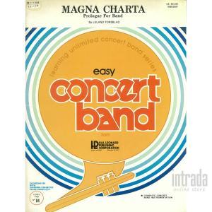 MAGNA CHARTA Prologue For Band / リーランド・フォースブラッド|intrada-onlinestore