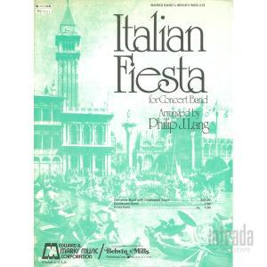Italian Fiesta for Concert Band / フィリップ・J. ラング|intrada-onlinestore