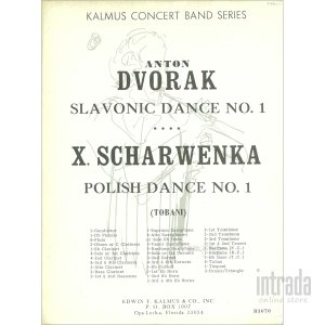 SLAVONIC DANCES No.1 (スラブ舞曲第一番) / ドヴォルザーク|intrada-onlinestore