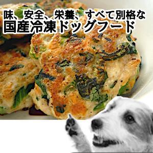 チンして完成 冷凍 ドッグフード モモマル(900g)
