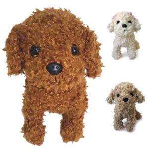 プレミアムパピー トイプードル ぬいぐるみ 犬 レッド アプリコット (ベストエバー)  雑貨 ギフト プレゼント 母の日