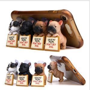 スマホスタンド フレブル 犬 吸盤 各種 雑貨 グッズ フレンチブルドッグ 携帯 ポリレジン