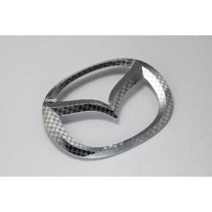 マツダ ファサネイトエンブレム 市松模様風 KEEFW/KE2FW系 CX−5 前期 セット クローム カーパーツ 純正 メッキ|inventer