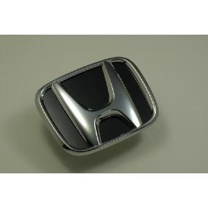 RG1 ステップワゴン エンブレム ホンダ ステンレス アクセントプレート 鏡面 ブラック カーパーツ|inventer