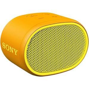 ソニー ワイヤレスポータブルスピーカー SRS-XB01 Y : 防水 Bluetooth スマホな...