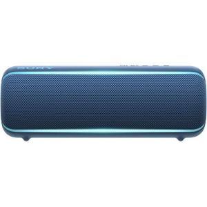 ソニー ワイヤレスポータブルスピーカー SRS-XB22 : 防水 / 防塵 / 防錆 / Blue...
