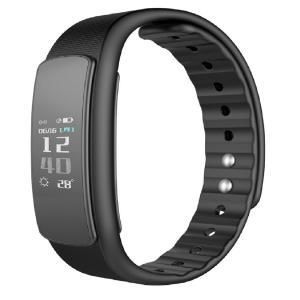 スマートウォッチ iWOWNfit i6 HR(ブラック)リストバンド型心拍睡眠活動量計