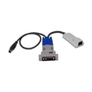 アボセントAutoView 3100R/3200R/1415/1515/2000 13W3 Sun用キーボード/マウス用サーバ・インタフェース・モジュール(AVRIQ-WSN)|iogear