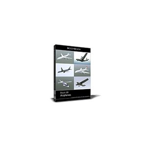 DOSCH 3D : Airplanes (D3D-AIR)|iogear
