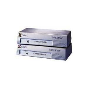 アボセントLongViewエクステンションスイッチ(ローカル&リモート共用 トランスミット/レシーバー ペア、スピーカー、マイクロフォン)|iogear