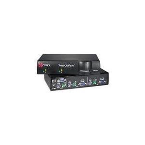 アボセント SwitchView 2ポート KVMスイッチ(CPU切替器) SV10025 iogear