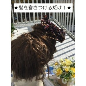 シフォン地に小花が沢山プリントしてありやわらかくてかわいい★!!