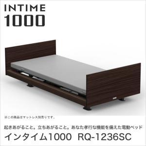 パラマウントベッド インタイム1000 電動ベッド シングル 2モーター INTIME1000 RQ-1236SC ベット|ioo-neruco