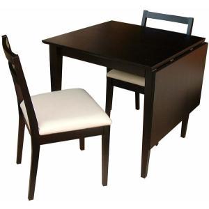 バタフライダイニングテーブル 北欧 S 幅75-幅120cm 木製 食卓テーブル|ioo|03