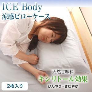 6/25限定プレミアム会員10%OFF! ピロケース 涼感枕カバー 2枚組み|ioo