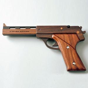 旭川クラフト 木製ゴム鉄砲 GRASP 44 オートマグ 専用ベース無|ioo