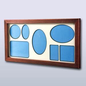旭川クラフト 木製フリーフォトフレーム・大 幅約41.8×奥行き約2.7×高さ約21.7cm|ioo