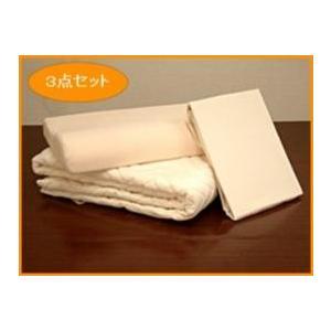低反発枕&洗えるウォッシャブルベットパット &シーツ3点セミダブル ioo