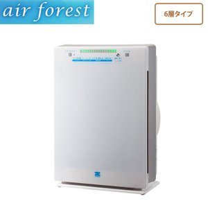 エアフォレスト空気清浄機 6層タイプ ZF−2100C 花粉除去 強力脱臭 ホコリ ニオイ除去 代引不可|ioo