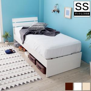 10/15限定プレミアム会員10%OFF★ すのこベッド セミシングル 木製 フランスベッドマットレス付き パネル型 すのこ 耐荷重150kg|ioo