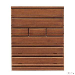 シーク120ハイチェスト 木製 引き出し収納 リビングチェスト 木製 洋服タンス 衣類収納 (重ね) 日本製 大型家具便 日時指定不可 沖縄離島不可