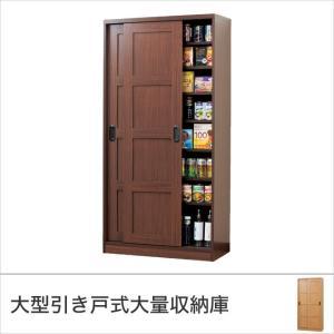 収納庫 室内収納庫 引き戸式 木製 本棚 可動棚 大量収納|ioo