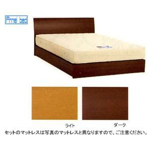 6/25限定プレミアム会員10%OFF! パネル型ベッド 引出無+スタンダード200マット セミダブル|ioo