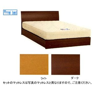 6/25限定プレミアム会員10%OFF! パネル型ベッド 引出無+スタンダード200マット ダブル|ioo