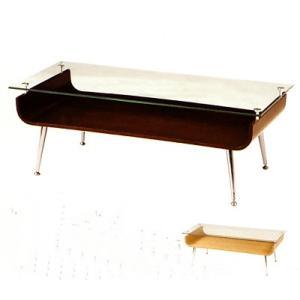 テーブル 棚付き ガラス天板 リビングテーブル センターテーブル ローテーブル カフェテーブル|ioo