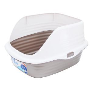 (アウトレット25%OFF) 猫トイレ 清潔 抗菌ネコトイレ cleancat ゴールド ※パッケージにキズ等※ ip-plus