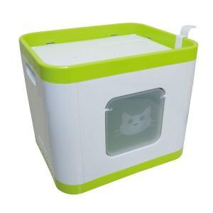 (アウトレット) 猫 トイレ ベッド おもちゃ キューブ