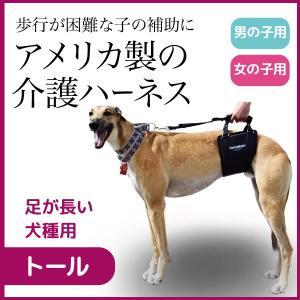 介護 介助 老犬 歩行補助 ヘルニア らくらくウォーキングハーネス トール|ip-plus